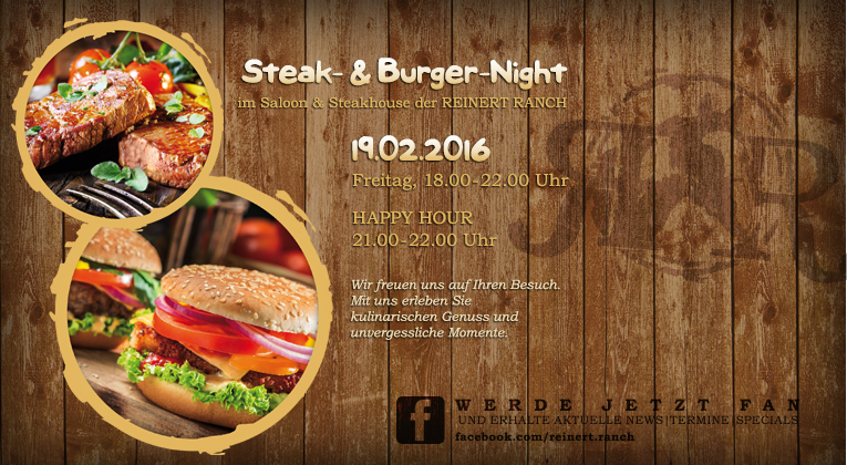 Steak- & Burger-Night