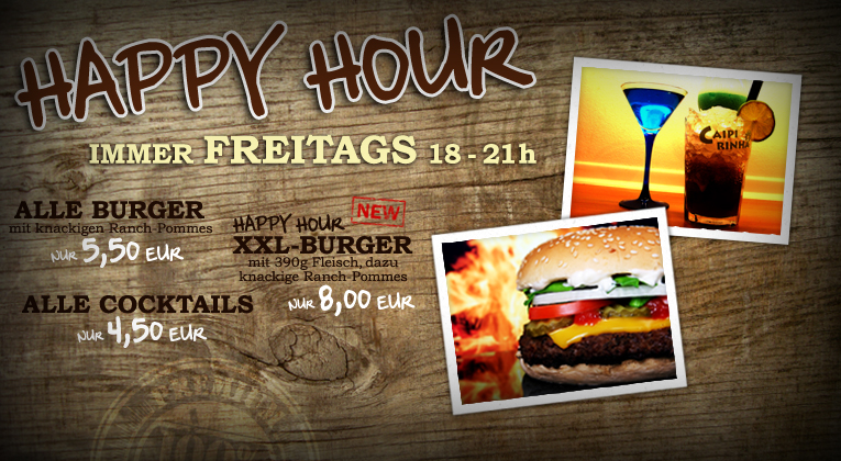 Happy Hour /// freitags